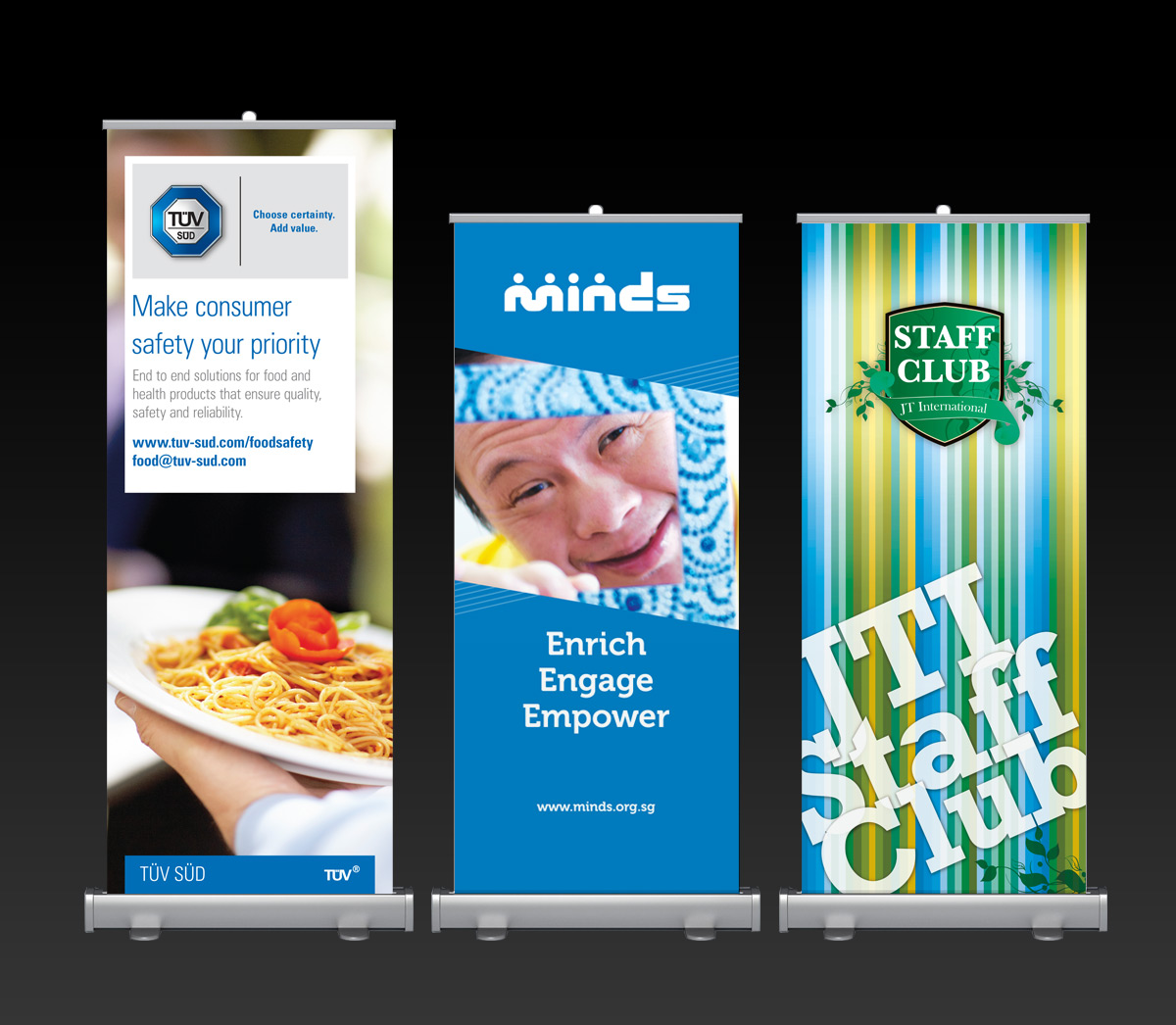 Standee Production, Ease Communications