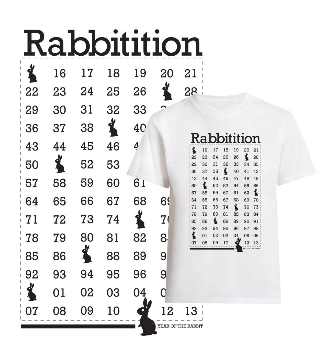 Year of Rabbit Graphic Design, Ease Communications