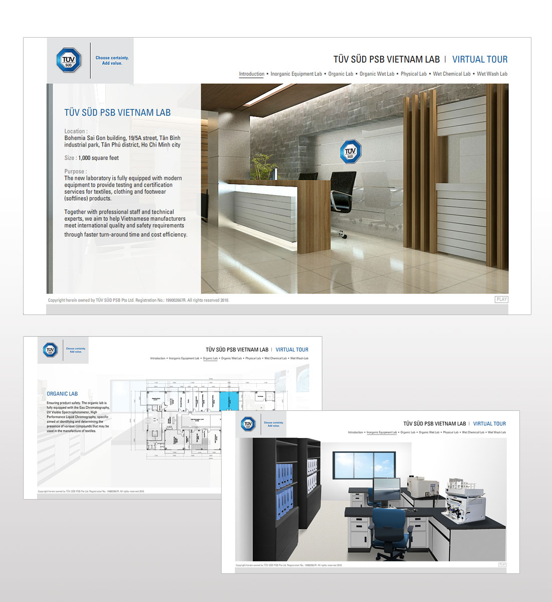 Virtual Tour illustration, Ease Communications